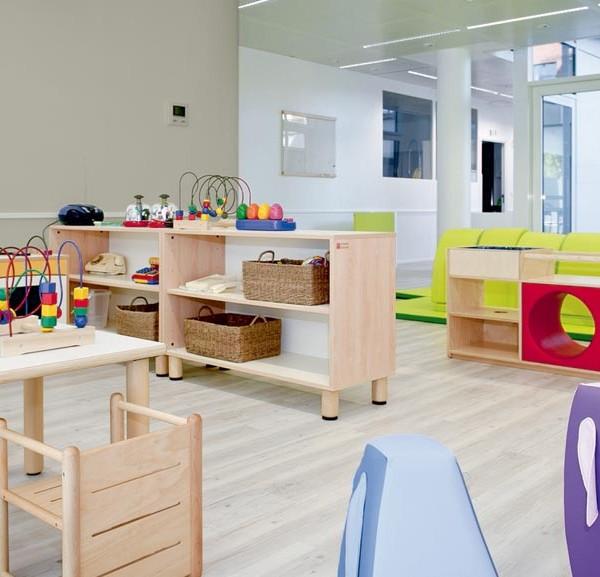 Mobiliario escolar , material montessori, mobiliario blando, material escolar infantil, primeros pasos.
