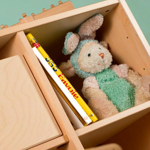 mobiliario de almacenaje, mobiliario, Material de almacenaje, material escolar infantil, bordes redondeados, antigolpes,