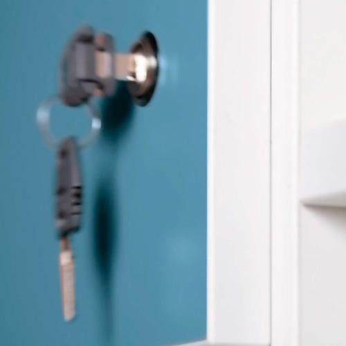Taquillas con llave, equipamiento para servicios generales, taquillas individuales, mobiliario y almacenaje, dissetkids.