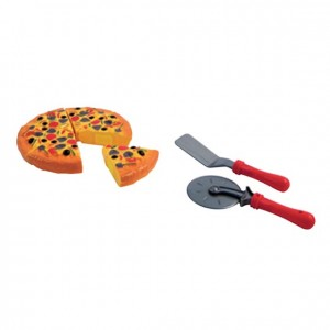 Juego de pizza, GC0000181, Juegos y actividades infantiles, juguetes de madera, material para niños, decoración escolar, material escolar, ludoteca, equipamiento de guardería, equipamiento escolar infantil, material infantil, jardín de infancia