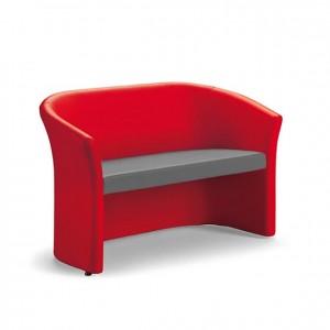 Sillón de espera, GU0000107, mobiliario escolar, mobiliario y equipamientos para servicios generales.