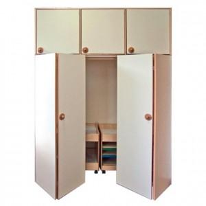 Mueble depósito de camas, GA0295001, mobiliario para el descanso, material para niños, decoración escolar, material escolar, ludoteca, equipamiento de guardería, equipamiento escolar infantil, material infantil, jardín de infancia