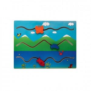 Panel de figuras, GC0000502, Juegos y actividades infantiles, juguetes de madera, material para niños, decoración escolar, material escolar, ludoteca, equipamiento de guardería, equipamiento escolar infantil, material infantil, jardín de infancia
