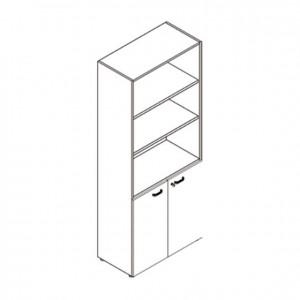 Armario con puertas y estantes, GU0000048, mobiliario escolar, mobiliario y equipamientos para servicios generales.