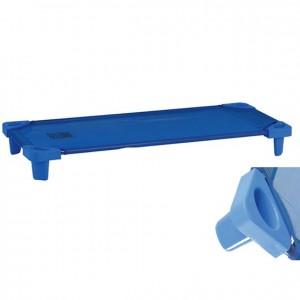 Cama apilable de plástico, GA0294300, mobiliario para el descanso, material para niños, decoración escolar, material escolar, ludoteca, equipamiento de guardería, equipamiento escolar infantil, material infantil, jardín de infancia