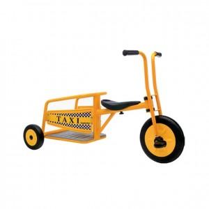 Triciclo Taxi, GC0000356, Juegos y actividades infantiles, juguetes de madera, material para niños, decoración escolar, material escolar, ludoteca, equipamiento de guardería, equipamiento escolar infantil, material infantil, jardín de infancia