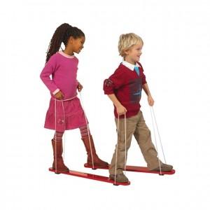 Esqui para dos, GC0000226, Juegos y actividades infantiles, juguetes de madera, material para niños, decoración escolar, material escolar, ludoteca, equipamiento de guardería, equipamiento escolar infantil, material infantil, jardín de infancia