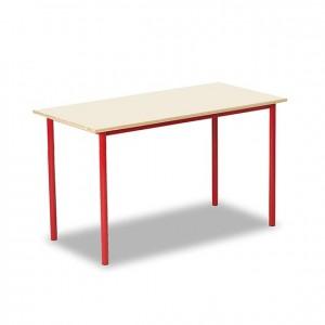 Mesa con estructura de metal, GP0904203, profesores, material escolar, mobiliario escolar, profesorado.