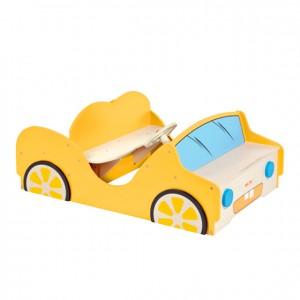 Coche de madera, GC0000223, Juegos y actividades infantiles, juguetes de madera, material para niños, decoración escolar, material escolar, ludoteca, equipamiento de guardería, equipamiento escolar infantil, material infantil, jardín de infancia