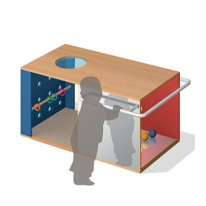 Cubo primeros pasos, GA0280301, juego y actividades, material para niños, decoración escolar, material escolar, ludoteca, equipamiento de guardería, equipamiento escolar infantil, material infantil, jardín de infancia