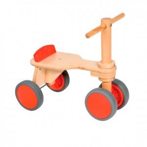 Triciclo de madera sin pedales, GC0000211, Juegos y actividades infantiles, juguetes de madera, material para niños, decoración escolar, material escolar, ludoteca, equipamiento de guardería, equipamiento escolar infantil, material infantil, jardín de infancia