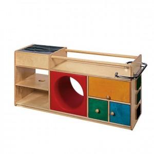 Mueble primeros pasos, GA0280101, juego y actividades, material para niños, decoración escolar, material escolar, ludoteca, equipamiento de guardería, equipamiento escolar infantil, material infantil, jardín de infancia
