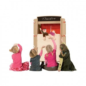 Teatro multifuncional, GC0000206, Juegos y actividades infantiles, juguetes de madera, material para niños, decoración escolar, material escolar, ludoteca, equipamiento de guardería, equipamiento escolar infantil, material infantil, jardín de infancia