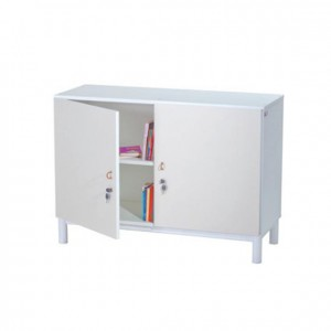 Mueble con puertas y llave, mobiliario para servicios generales, GP0612000, mobiliario escolar, jardín de infancia.
