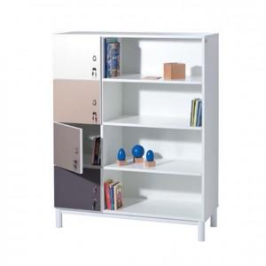 Mueble casillero con estantes y puertas GP0611603