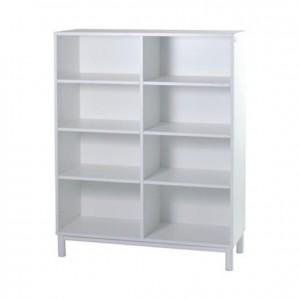 Mueble casillero blanco, mobiliario para servicios generales, GP0611100, mobiliario escolar, jardín de infancia, guarderías.