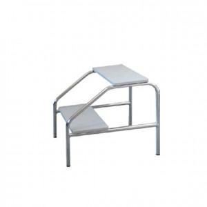Escalera de dos gradas para camilla plegable, GP0000014, professores, aula enfermeria, jardín de infancia, equipamientos para servicios generales.