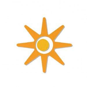 Figura Sol, GA0272808 accesorios, material para niños, decoración escolar, material escolar, ludoteca, equipamiento de guardería, equipamiento escolar infantil, material infantil, jardín de infancia