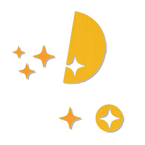Figura Luna y Estrellas GA0272807