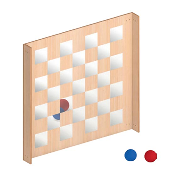 Pared Quiolá Espejo Pixel GA0271005