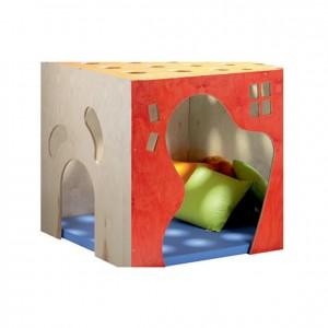 Cueva de la bruja, GAI200300, colchonetas, Mobiliario blando, juguetes de madera, material para niños, decoración escolar, material escolar, ludoteca, equipamiento de guardería, equipamiento escolar infantil, material infantil, jardín de infancia