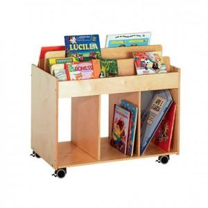 Expositor portalibros GA0261200 mobiliario de almacenaje, experiencia y creatividad, material para niños, decoración escolar, material escolar, ludoteca, equipamiento de guardería, equipamiento escolar infantil, material infantil, jardín de infancia