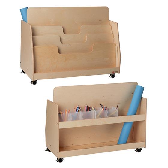 Mueble portapapeles con ruedas GA0261100