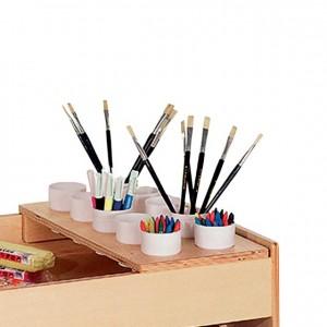 Portavasos para mueble con ruedas, GA0260300, mobiliario de almacenaje, experiencia y creatividad, material para niños, decoración escolar, material escolar, ludoteca, equipamiento de guardería, equipamiento escolar infantil, material infantil, jardín de infancia