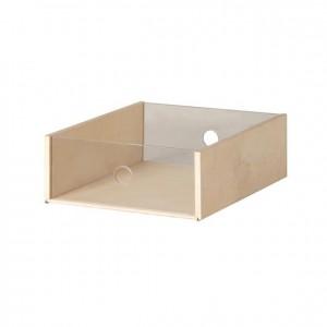 Caja de madera con parte frontal transparente, GA0259000, mobiliario de almacenaje, material para niños, decoración escolar, material escolar, ludoteca, equipamiento de guardería, equipamiento escolar infantil, material infantil, jardín de infancia