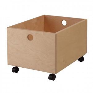Cajón de madera con ruedas, GA0257101, mobiliario de almacenaje, material para niños, decoración escolar, material escolar, ludoteca, equipamiento de guardería, equipamiento escolar infantil, material infantil, jardín de infancia