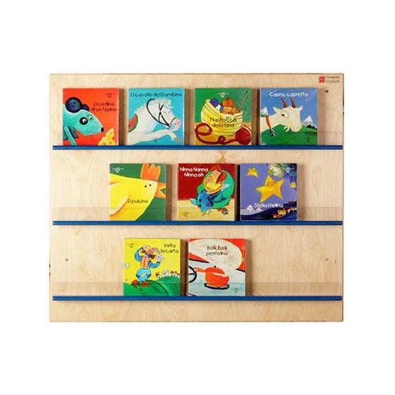 Expositor libros equipamiento escolar infantil dissetkids for Mueble libreria infantil