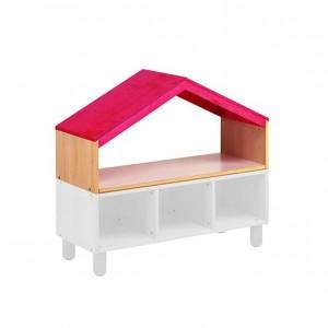 Techo para mueble, GA0253900, techo superior rojo para mueble, mobiliario de almacenaje, material para niños, decoración escolar, material escolar, ludoteca, equipamiento de guardería, equipamiento escolar infantil, material infantil, jardín de infancia