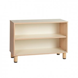 Estantería baja, estantería de madera, GA0251000, mobiliario de almacenaje, mobiliario, Material de almacenaje, material escolar infantil.