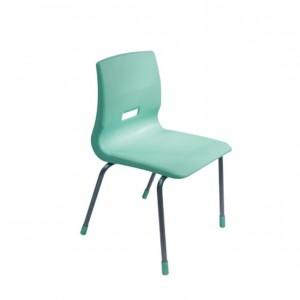 Silla de metal y plástico apilable, silla monocasco, silla de colores, GA0247706, mesas y sillas, Mobiliario escolar infantil, jardín de infancia, educación infantil, Montessori.