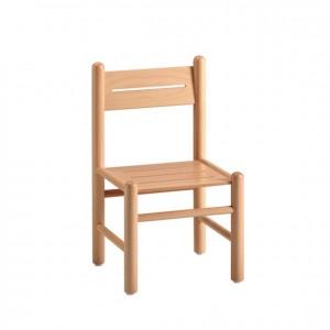 Silla de madera, GA0246002, bordes redondeados, esquinas redondeadas, antigolpes, mesas y sillas, Mobiliario escolar infantil, jardín de infancia, educación infantil, Montessori.