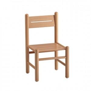 Silla de madera, GA0245201, bordes redondeados, esquinas redondeadas, antigolpes, mesas y sillas, Mobiliario escolar infantil, jardín de infancia, educación infantil, Montessori.