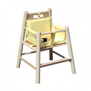Trona de madera, GA0244000, bordes redondeados, esquinas redondeadas, antigolpes, mesas y sillas, Mobiliario escolar infantil, jardín de infancia, educación infantil, Montessori.