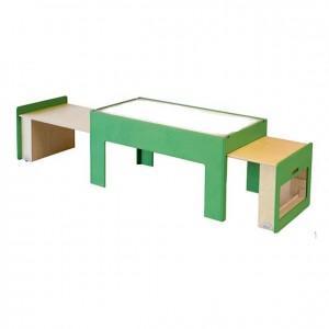 Mesa luminosa extraíble, mesa luminosa extensible, experiencia y creatividad, GA0243400, bordes redondeados, mesas y sillas, Mobiliario escolar infantil, jardín de infancia, educación infantil, Montessori.