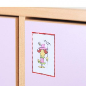 Portarretrato, símbolo adhesivo rígido, GA0231400, Mobiliario para la acogida, Mobiliario escolar infantil, jardín deinfancia, educación infantil, Montessori.
