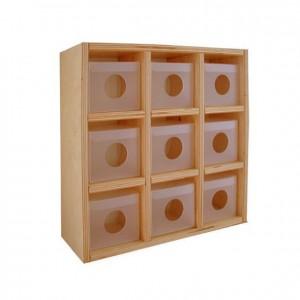 Casillero porta-chupetes, GA0231300, mobiliario para la higiene y el cuidado mobiliario escolar infantil.