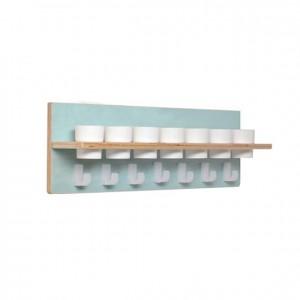 Barra con portavasos y toallitas higiénicas, GA0231000, mobiliario para la higiene y el cuidado mobiliario escolar infantil.