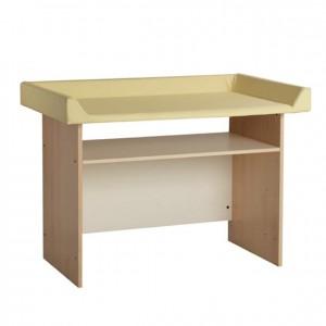 Mueble cambiador sencillo, GA0230400, mobiliario escolar, mobiliario y equipamientos para servicios generales.