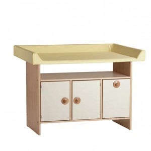 mobiliario escolar, mobiliario para la higiene y el cuidado, mueble cambiador con escalera, GA0230000