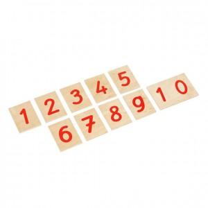 Cifras impresas, material montessori, matemáticas escolares, GM0811N00