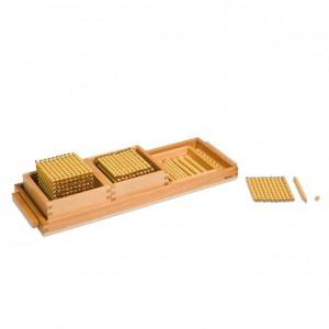 Presentación sistema decimal, GM0923N00, material montessori, matemáticas, material escolar infantil.