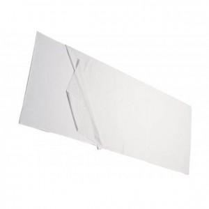 Sábana para edredón con ángulos blanca: GA0292300. Para colchón acolchado e ignífugo em clase 1IM: GAI292100