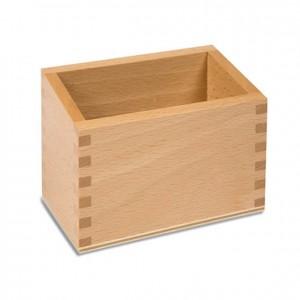 Caja para cifras en papel de lija, GM0832N00, material montessori, matemáticas, material escolar infantil.