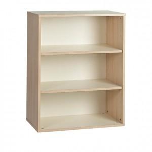 Estantería con 3 estantes, dos baldas y patas de madera GA0252002