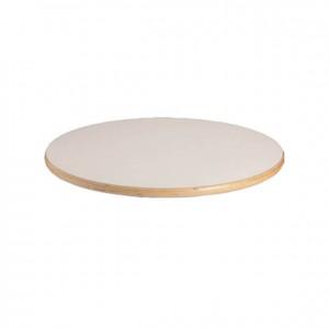 Tablero de mesa redondo de madera con bordes redondeados para niños GA0242810