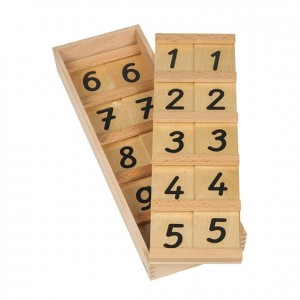 Tabas de seguín 11-99, GM1060000, material montessori, matemáticas, material escolar infantil.